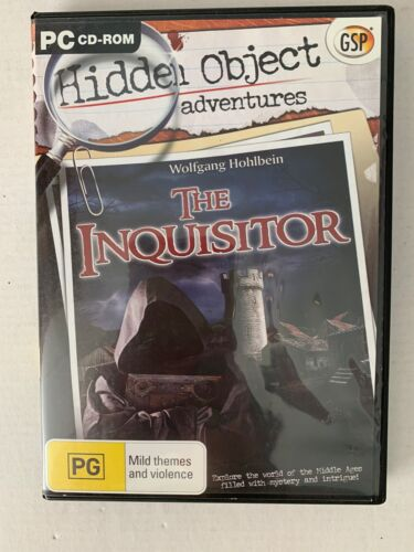 Wolfgang Hohlbein - The Inquisitor PC CDROM Hidden Object Game