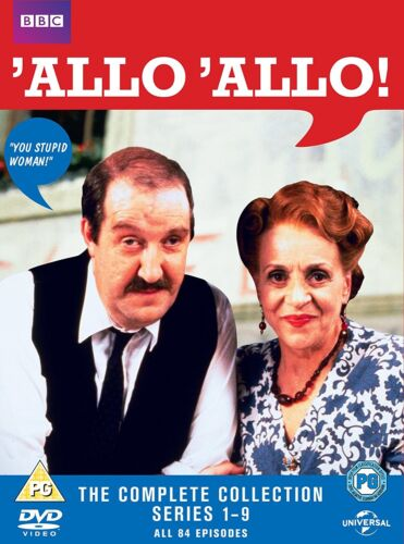 Allo 'Allo Complete collection series seasons 1 - 9 DVD Box Set New Clearance