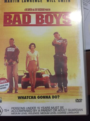 Bad Boys (DVD, 2000, Special Edition Multiple Languages). Region 4