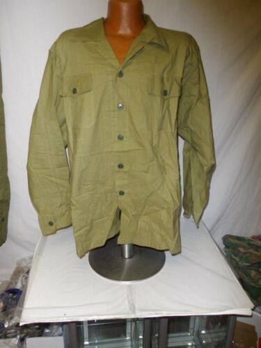 nva-8/ NVA North Vietnamese Army Green Uniform set 2 pocket Large sz 52 W14FReproductions - 156445