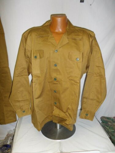 nva-11 NVA North Vietnamese Army Brown Uniform set 2 pocket Large sz 52 W13DReproductions - 156445