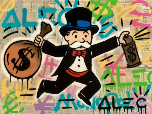 """ALEC MONOPOLY """"MONOPOLY MONEY TAG"""" 