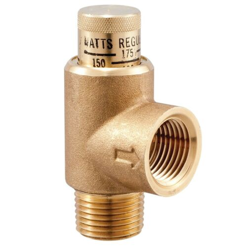 Watts Brass Series 530C Calibrated Pressure Relief Valves
