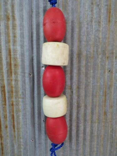 5 Old Fish Net Floats  -(SF479)