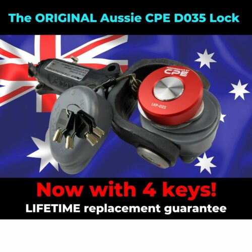 THE ULTIMATE THEFT PROTECTION CPE HITCHMASTER® & CRUISEMASTER® DO35 / D035 LOCK