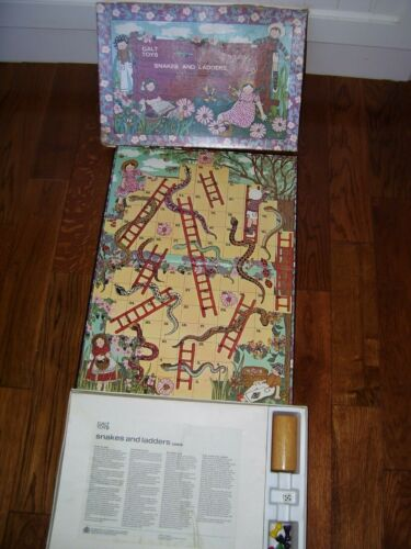 SNAKES AND LADDERS- GALT TOYS England