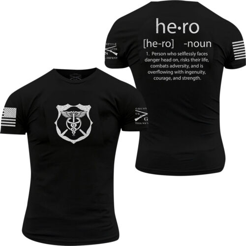Grunt Style Hero Defined T-Shirt - Black <br/> Exclusive Seller of Grunt Style on eBay