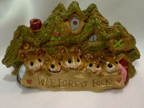 Wee Forest Folk Retired Display Plaque Signed