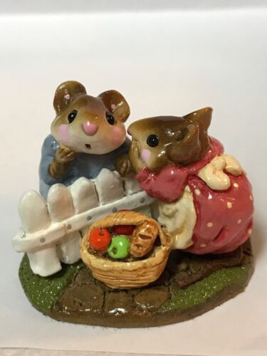 Wee Forest Folk Retired Mouse Talk