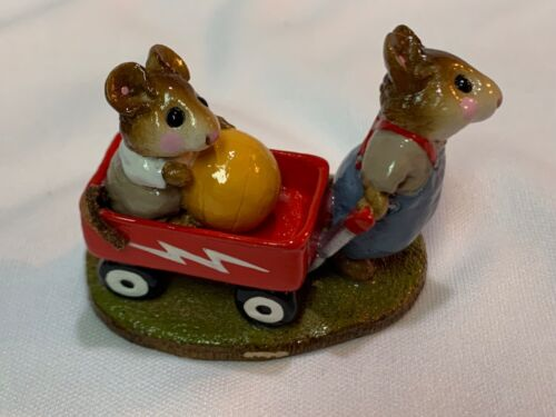 Wee Forest Folk Retired The Red Wagon