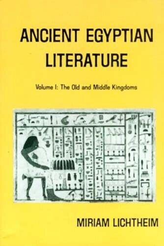 Ancient Egypt Literature I Old + Middle Kingdom Coffin Texts Letters Hymns Songs