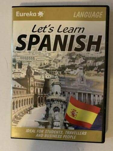 Let's Learn Spanish PC/MAC CD-ROM For Students, Travellers & Business People