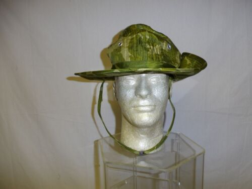 e4227-59 RVN Indochina/Vietnam US Parachute Camo Canopy Bush Hat French  W11DReproductions - 156445