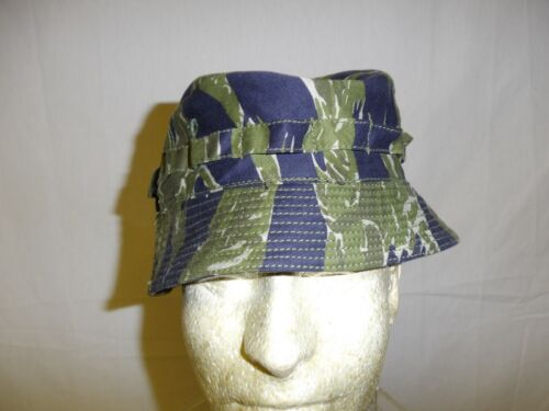 e4230-57 RVN Vietnam Tiger Stripe short brim boonie US Special Forces SF W8DReproductions - 156445