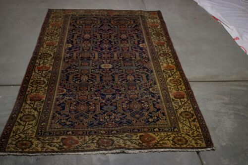 ANTIQUE MALAYER 6X4 HANDMADE  RUG  WOOLONE OF THE KIND RUG  MASTERPIECE