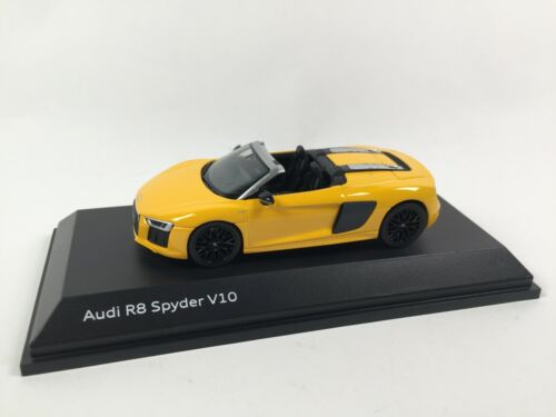 Audi R8 Spyder V10 1/43 Herpa Dealer Pack Voiture Model Car 18531
