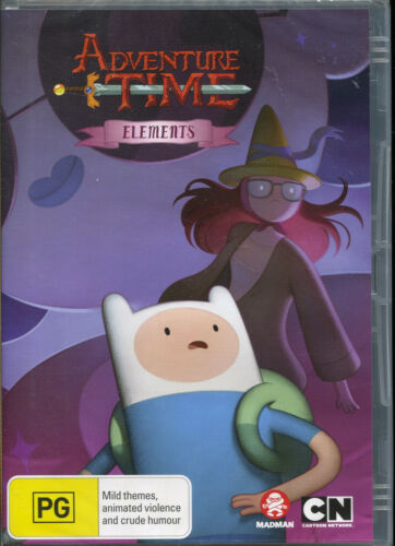 Adventure Time Elements DVD NEW Region 4