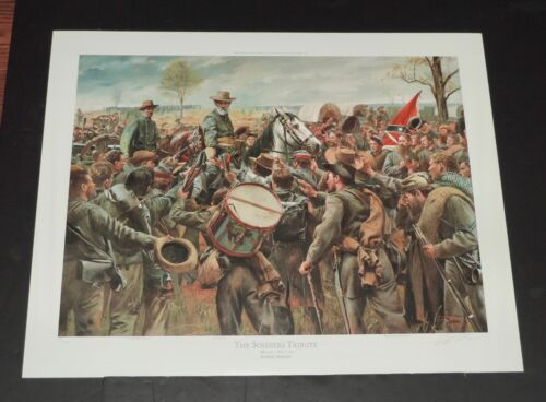 Don Troiani - Soldiers Tribute - Collectible Civil War Print