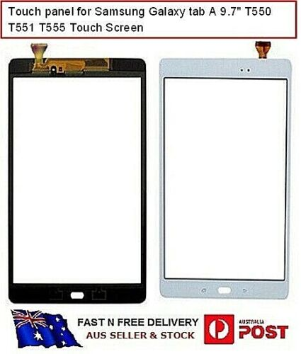 For Samsung Galaxy Tab A Touch Screen Digitizer 9.7 inch for T550 T551 T555