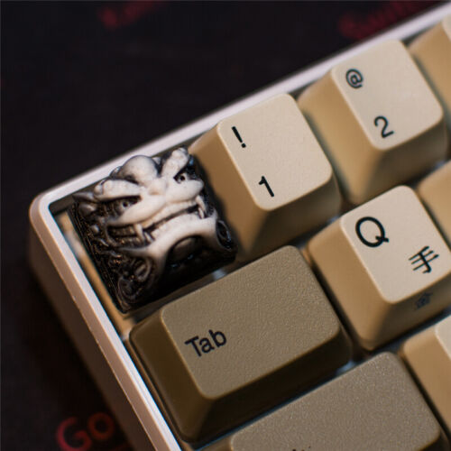 Lion Head Keycap Resin Fancy Chinese Style Key Cap For Cherry MX Keyboard New