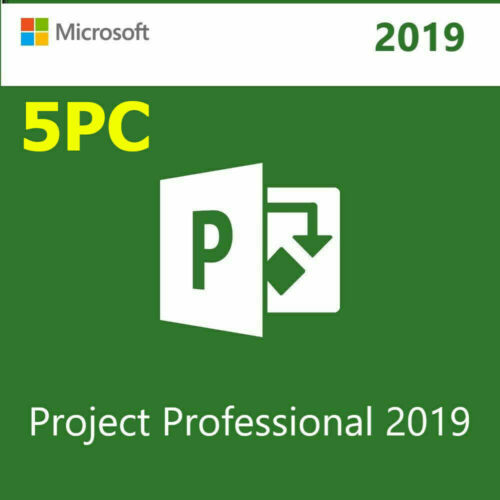 🔥 5PC Microsoft Project Professional 2019 License Key  With Download Link 🔥
