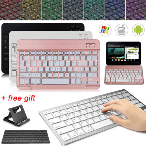 Portable Wireless Keyboard For Samsung Galaxy Tab A T510 S4 S5e S6 Lite Tablet