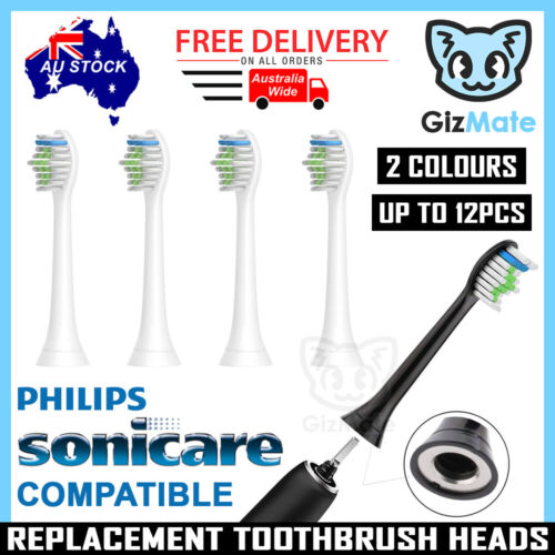 Replacement Brush Heads for Philips Sonicare Toothbrush Diamond Clean HX6064 AU