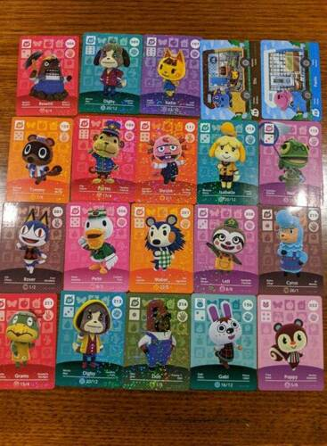 Assorted Animal Crossing Amiibo Cards - Free Shipping in Australia
