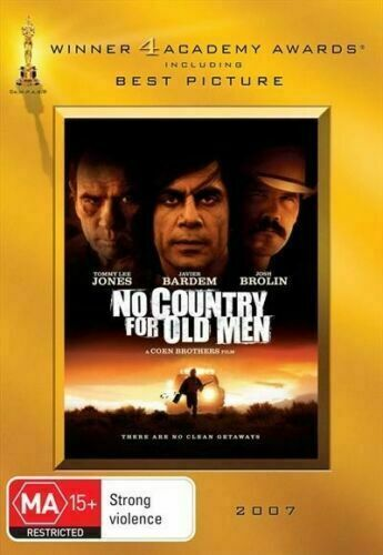 No Country For Old Men Dvd Gold Academy Edition Region 4 VGC