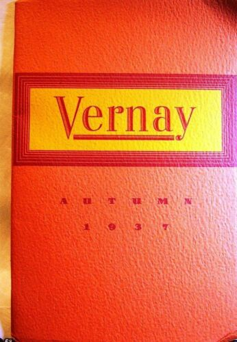 VERNAY catalogs 4 1930 ironwork Christmas Autumn etc. booklets