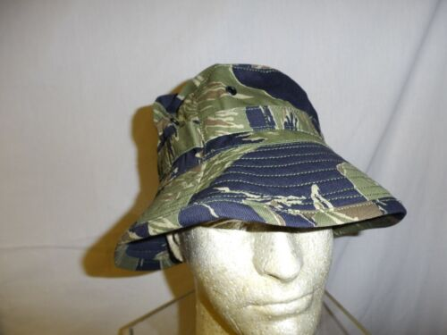 vnth-58 Tiger Stripe Boonie Hat 7 1/4 (58) matches vnt listed uniform W2EReproductions - 156445