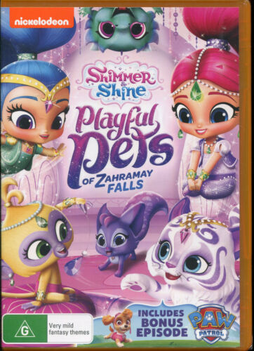 Nickelodeon Shimmer and Shine Playful Pets of Zahramay Falls DVD NEW Region 4