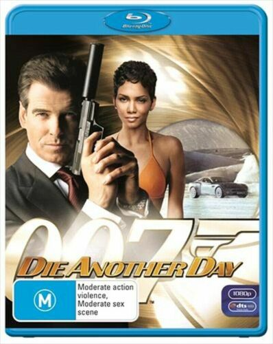 Die Another Day OO7 Blu Ray - Pierce Brosnan - New & Sealed