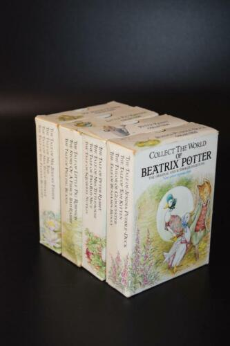4x Vintage Box Sets - Collect the World of Beatrix Potter - 15 Books total -1991