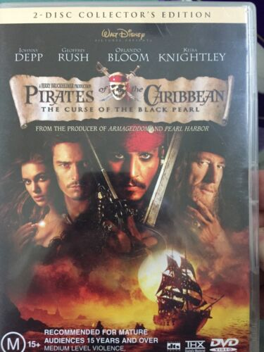 Pirates Of The Caribbean - The Curse Of The Black Pearl.  2-disk. All star romp!