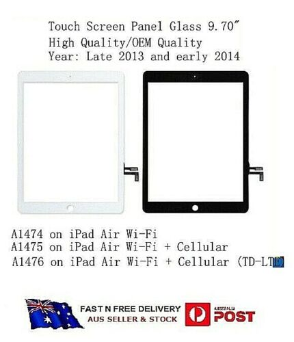 IPAD Air A1474 A1475 A1476 Touch Screen Digitizer Touch Panel  (Black Color)