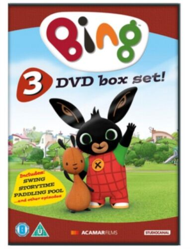 Bing 1 - 3 DVD Swing + Story Time + Paddling Poo and other episodes Collection