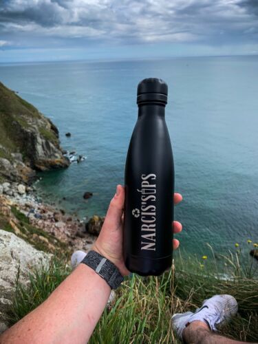 Stainless Steel Reusable Water Bottle - Narcissips Ireland  <br/> Hydrated & Clima Cool (Postage Included)