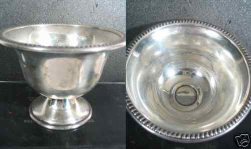 Sterling National NUT DISH OR FOOTED COMPOTE 63gr  No Mono