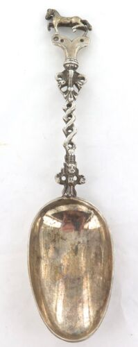 1929 DUTCH / NETHERLANDS .833 SILVER TABLESPOON / SMALL SERVER.