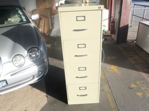 FILING CABINET- Beige - 4 Drawer