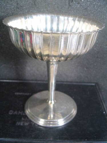 Wallace Sterling SHERBET DISH Weighted #3797