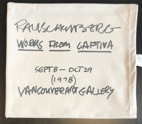1978 Complete Exhibition Package, Images from Captiva Rauschenberg RARE COMPLETE