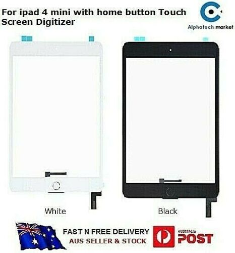 For Ipad Mini 4 Touch Screen Digitizer with Home Button  A1538 A1550