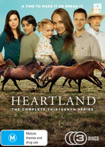 Heartland Complete Season 13 DVD (Region 4 DVD)