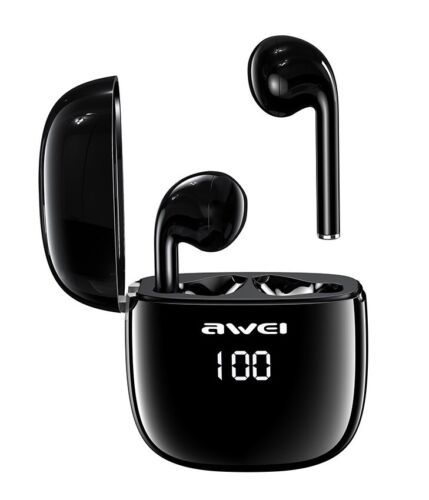 Awei T28P TWS Bluetooth Earphones Wireless Earbuds Waterproof LED Display Touch  <br/> Fast & Free Shipping  Express Available AU Stock