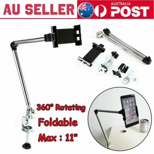 360° Rotating Tablet Bed Holder Stand Lazy Table Mount Bracket for iPad Phone wk