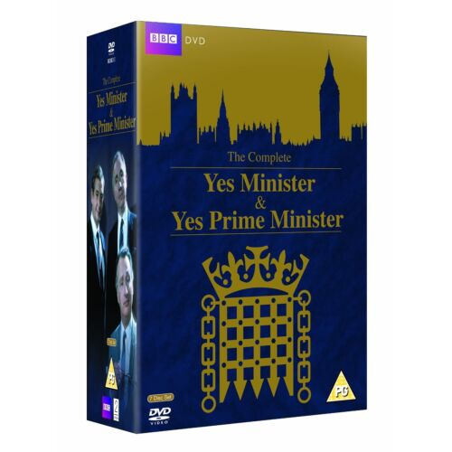 Yes Minister & Yes Prime Minister The Complete DVD Box Set 1980 R4 Clearance