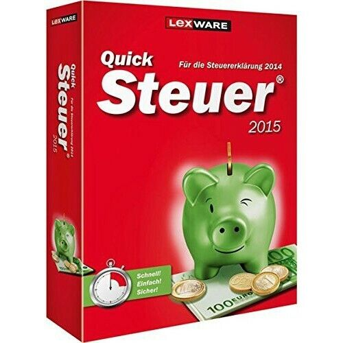 PC - QuickSteuer 2015 [Lexware] NEW & BOXED