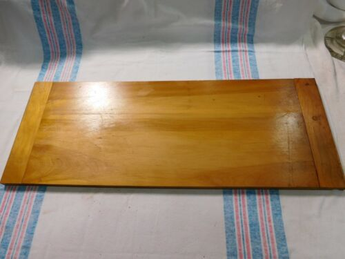 Antique~Salvage ~Cutting Board ~ Dough Board ~  Cherry and poplar     #2083